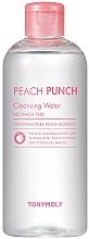 Parfumuri și produse cosmetice Apă de curățare pentru față - Tony Moly Peach Punch Cleansing Water