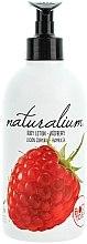 """Parfumuri și produse cosmetice Loțiune de corp nutritivă """"Zmeură"""" - Naturalium Body Lotion Raspberry"""