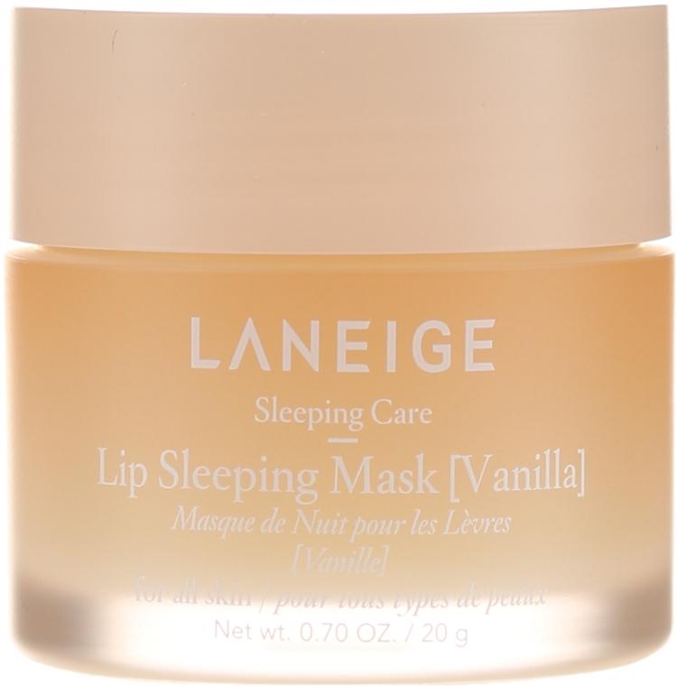 """Mască regenerantă de noapte pentru buze """"Vanilie"""" - Laneige Sleeping Care Lip Sleeping Mask Vanilla — Imagine N2"""
