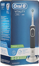 Periuță electrică de dinți - Oral-B Vitality 150 Cross Action — Imagine N1