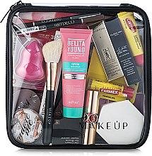 """Parfumuri și produse cosmetice Trusă cosmetică incoloră """"Visible Bag"""" 20x20x8 cm (fără produse) - MakeUp"""