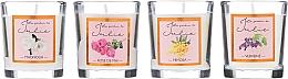 Parfumuri și produse cosmetice Set lumânări aromate - Ambientair Le Jardin de Julie
