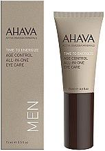 Parfumuri și produse cosmetice Cremă pentru zona ochilor - Ahava Time To Energize Age Control All In One Eye Care