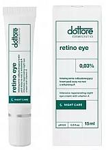 Parfumuri și produse cosmetice Cremă intensiv revitalizantă pentru zona ochilor cu 0,3% vitamina A - Dottore Retino Eye