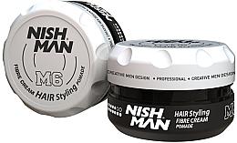 Parfumuri și produse cosmetice Pomadă pentru coafarea părului - Nishman Hair Styling Fibre Cream