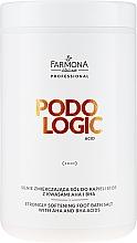Parfumuri și produse cosmetice Sare de baie pentru picioare - Farmona Podologic Acid Strongly Softening Foot Bath Salt
