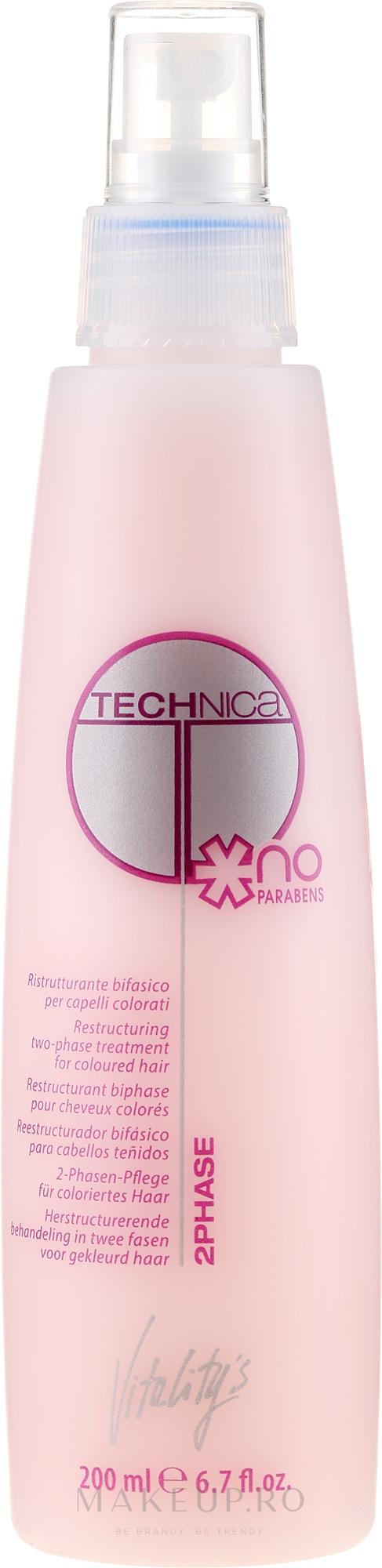 Loțiune regenerantă pentru păr - Vitality's Technica 2Phase — Imagine 200 ml