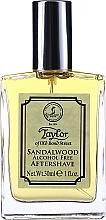 Parfumuri și produse cosmetice Taylor Of Old Bond Street Sandalwood Alcohol Free Aftershave Lotion - Loțiune după ras