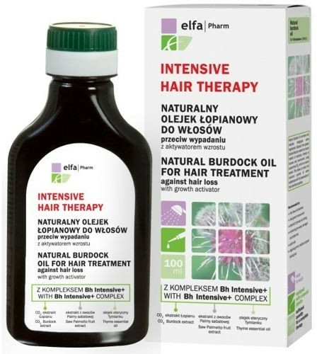 Ulei din brusture pentru păr - Elfa Pharm Burdock Oil