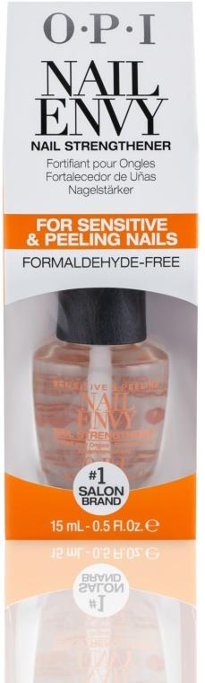 Tratament pentru unghiile sensibile și stratificate, cu vitamina E - O.P.I Nail Envy Sensitive & Peeling — Imagine N2