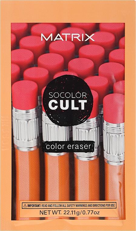 Soluție pentru îndepărtarea vopselei de păr - Matrix SoColor Cult Color Eraser