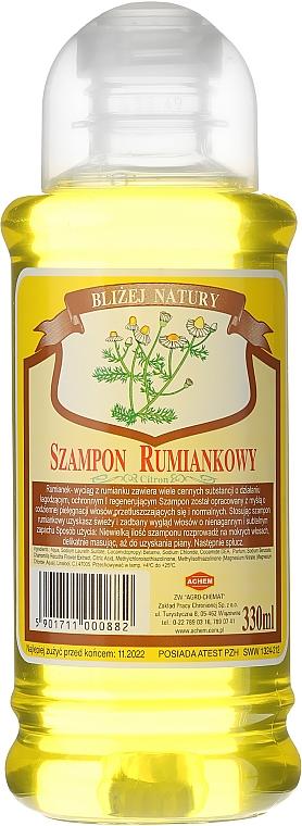 """Șampon de păr """"Mușețel"""" - Achem Popular Camomile Shampoo"""