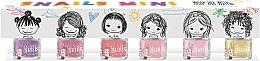 Parfumuri și produse cosmetice Set oje pentru copii 6x7ml - Snails Mini Bebe
