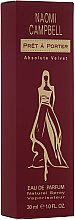 Parfumuri și produse cosmetice Naomi Campbell Pret a Porter Absolute Velvet - Apă de parfum