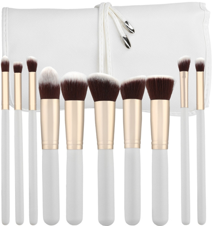 Set pensule profesionale pentru machiaj, 10 buc. - Tools For Beauty