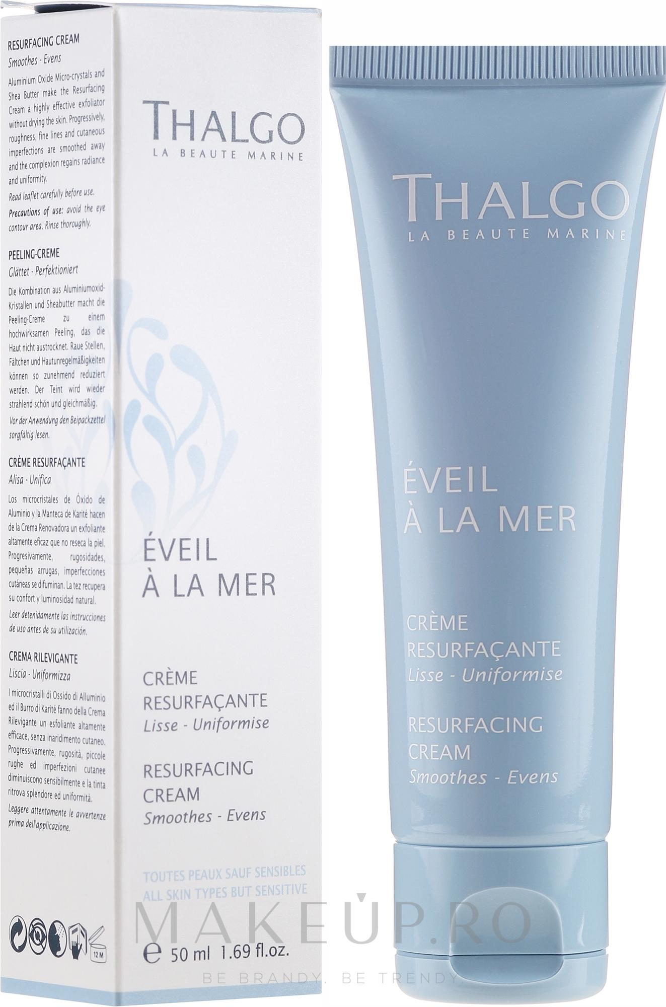 Cremă regenerantă pentru față - Thalgo Resurfacing Cream — Imagine 50 ml