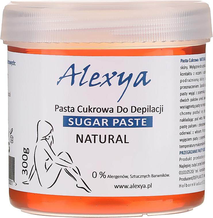 Pastă pentru epilare - Alexya Sugar Paste For Depilation Natural