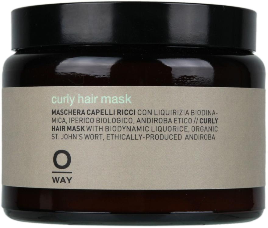 Mască pentru păr creț - Rolland Oway BeCurly Mask (sticlă) — Imagine N1