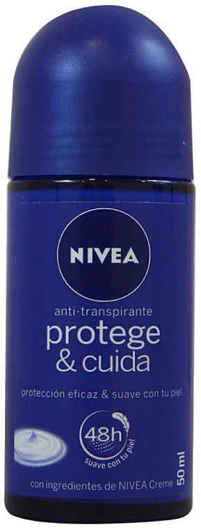 Deodorant roll-on - Nivea Protege & Cuida Anti-transpirante — Imagine N1