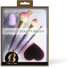Parfumuri și produse cosmetice Set pensule pentru machiaj - Beauty Look Sparkly Beauty Brush