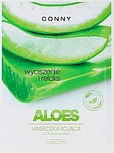 """Parfumuri și produse cosmetice Mască de față """"Aloe"""" - Conny Aloe Essence Mask"""