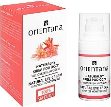Parfumuri și produse cosmetice Cremă hidratantă pentru zona ochilor - Orientana Bio Eye Cream