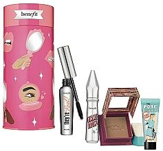 Parfumuri și produse cosmetice Set - Benefit Bring Your Own Beauty Set (mascara/8g + br/gel/3g + bronzer/8g + primer/7.5ml)