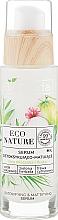 Ser facial - Bielenda Eco Nature Coconut Water Green Tea & Lemongrass Detox & Mattifyng Serum — Imagine N2