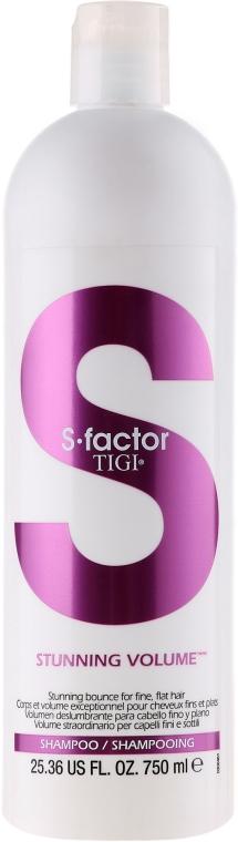 Șampon pentru volum - Tigi S Factor Stunning Volume Shampoo — Imagine N2