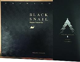 Set - Holika Holika Prime Youth Black Snail Skin Care Kit (mask + cr/18ml + tonic/31g + emulsion/31ml) — Imagine N2