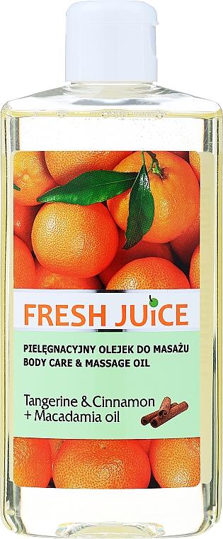 """Ulei de corp """"Mandarină. Scorțișoară. Macadamia"""" - Fresh Juice Energy Tangerine&Cinnamon+Macadamia Oil"""