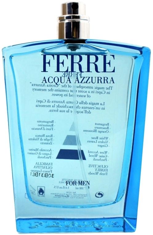Gianfranco Ferre Acqua Azzurra - Apă de toaletă (tester fără capac)