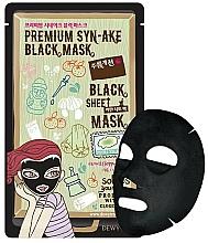 Parfumuri și produse cosmetice Mască din țesătură cu efect de lifting pentru față - Dewytree Premium Synake Black Sheet Mask