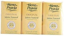 Parfumuri și produse cosmetice Heno de Pravia Original - Set (soap/3x150g)