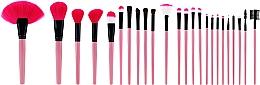 Parfumuri și produse cosmetice Set pensule profesionale pentru machiaj, 24 buc., roz - Tools For Beauty