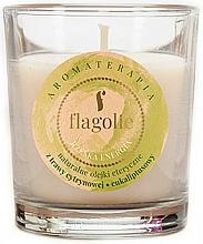 "Parfumuri și produse cosmetice Lumânare aromatică în pahar ""Energie"" - Flagolie Fragranced Candle Right Energy"