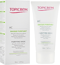 Parfumuri și produse cosmetice Mască purificatoare pentru ten gras și mixt - Topicrem AC Purifying Mask