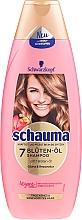 "Parfumuri și produse cosmetice Șampon ""7 Blossom Oil"" - Schwarzkopf Schauma 7 Blossom Oil Shampoo"