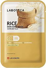 Parfumuri și produse cosmetice Mască iluminatoare pentru față - Leaders Labotica Skin Soft Mask Rice