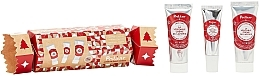 Parfumuri și produse cosmetice Set - Polaar Christmas 2020 Lapland Cracker Gift Set (mini/hand/cr/25ml+lip/balm/10ml+mini/cr/25ml)
