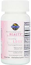 """Parfumuri și produse cosmetice Complex """"Picioare frumoase"""", capsule - Garden of Life Extraordinary Beauty"""
