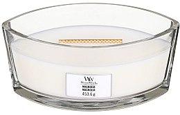 Parfumuri și produse cosmetice Lumânare aromată în suport de sticlă - Woodwick Hearthwick Flame Ellipse Candle Magnolia