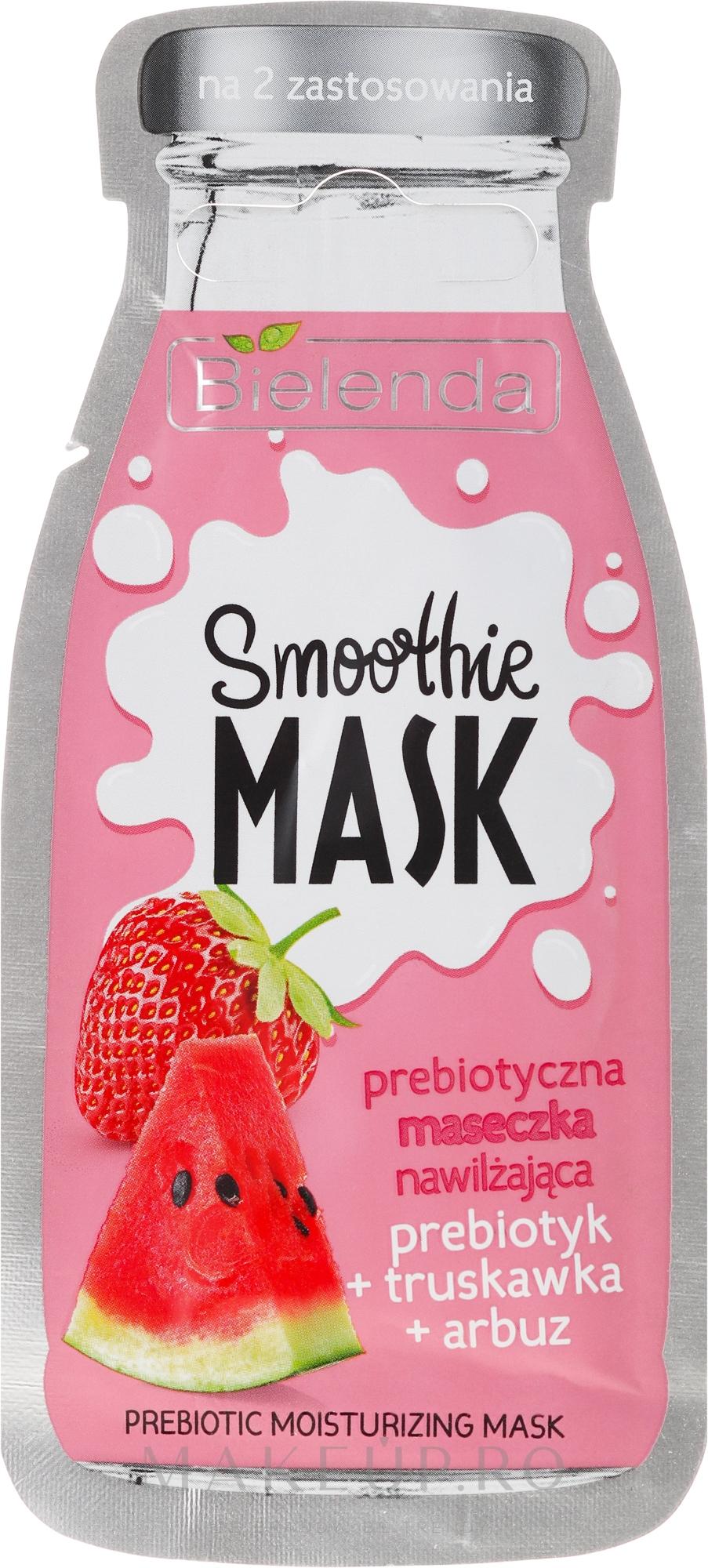 Mască de față - Bielenda Smoothie Mask Prebiotic Moisturizing Mask — Imagine 10 g