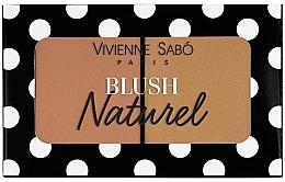 Parfumuri și produse cosmetice Fard de obraz, dublu - Vivienne Sabo Naturel Blush Duo