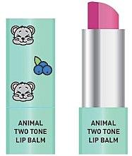 Parfumuri și produse cosmetice Balsam dublu de buze - Animal Two-Tone Lip Balm