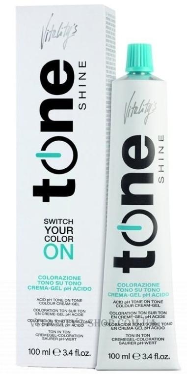 Vopsea cremă de păr, fără amoniac - Vitality's Tone Shine