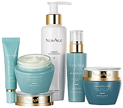 Parfumuri și produse cosmetice Set - Oriflame NovAge Skinergise Set (gel/150ml+eye/cr/15ml+ser/30ml+day/cr/50ml+/night/cr/50ml)