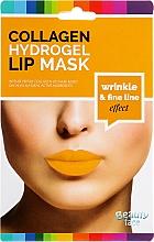 Parfumuri și produse cosmetice Mască pentru buze - Beauty Face Collagen Hydrogel Lip Mask Wrinkle Smooth Effect