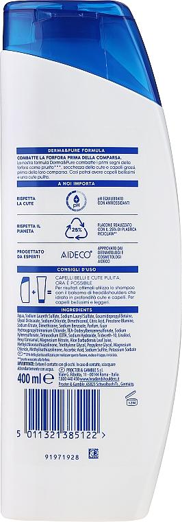 Șampon anti-mătreață pentru scalp sensibil - Head & Shoulders Sensitive Scalp Care — Imagine N4