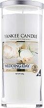 "Parfumuri și produse cosmetice Lumânare parfumată în pahar ""Ziua nunții"" - Yankee Candle Wedding Day"